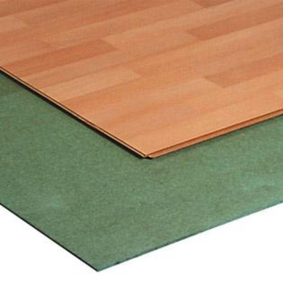 Groeneplaten ondervloer voor kliklaminaat en parketvloer