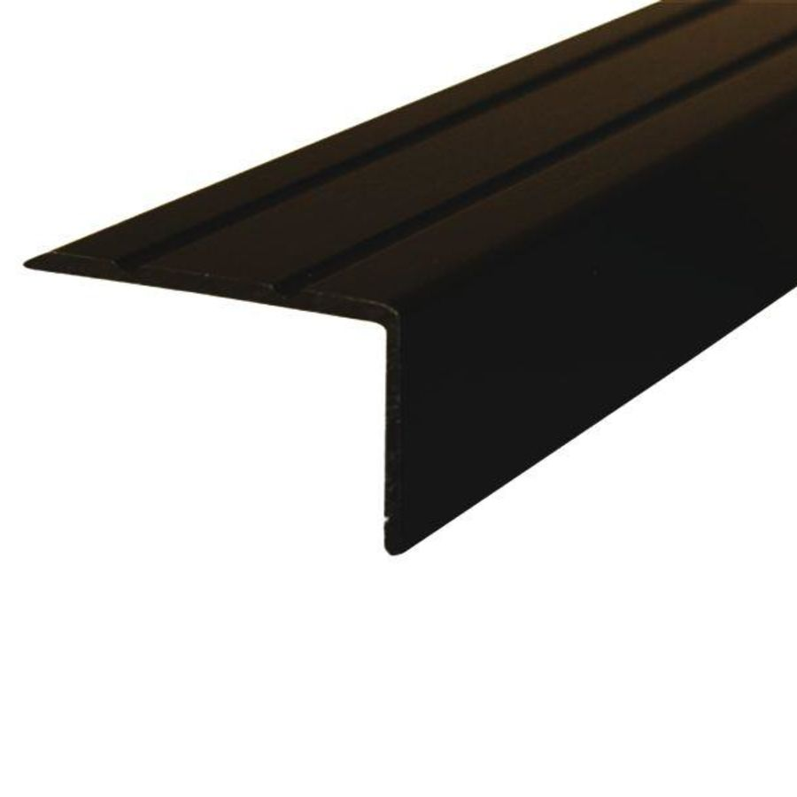 Hoekprofiel Zelfklevend Zwart 20x25mm
