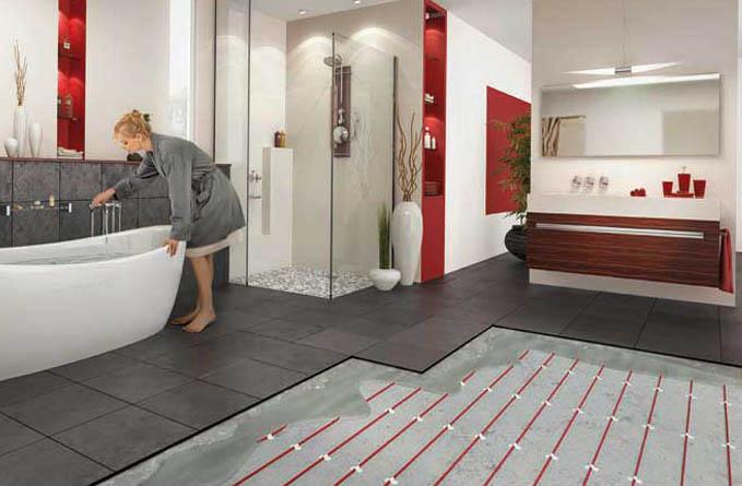 Laminaat leggen in combinatie met vloerverwarming